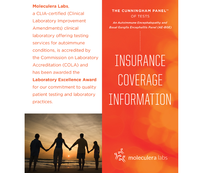 Cunningham Panel PANDAS Insurance Brochure