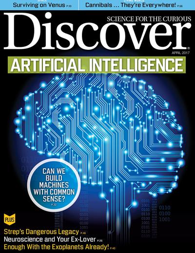 Discover Magazine April 2017