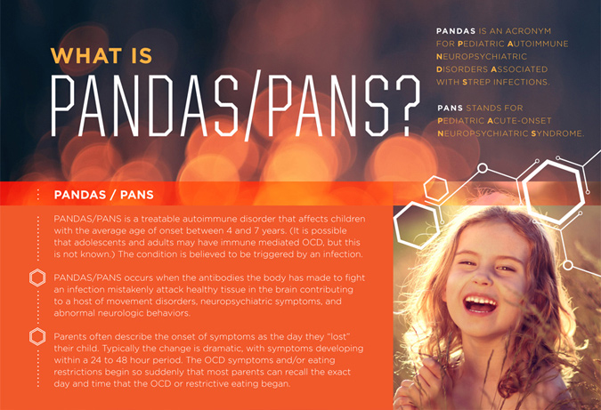 PANS and PANDAS Educational Brochures