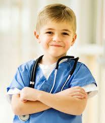 boy with stethoscope
