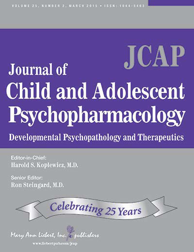 Journal of Child and Adolescent Psychopharmacology - PANS